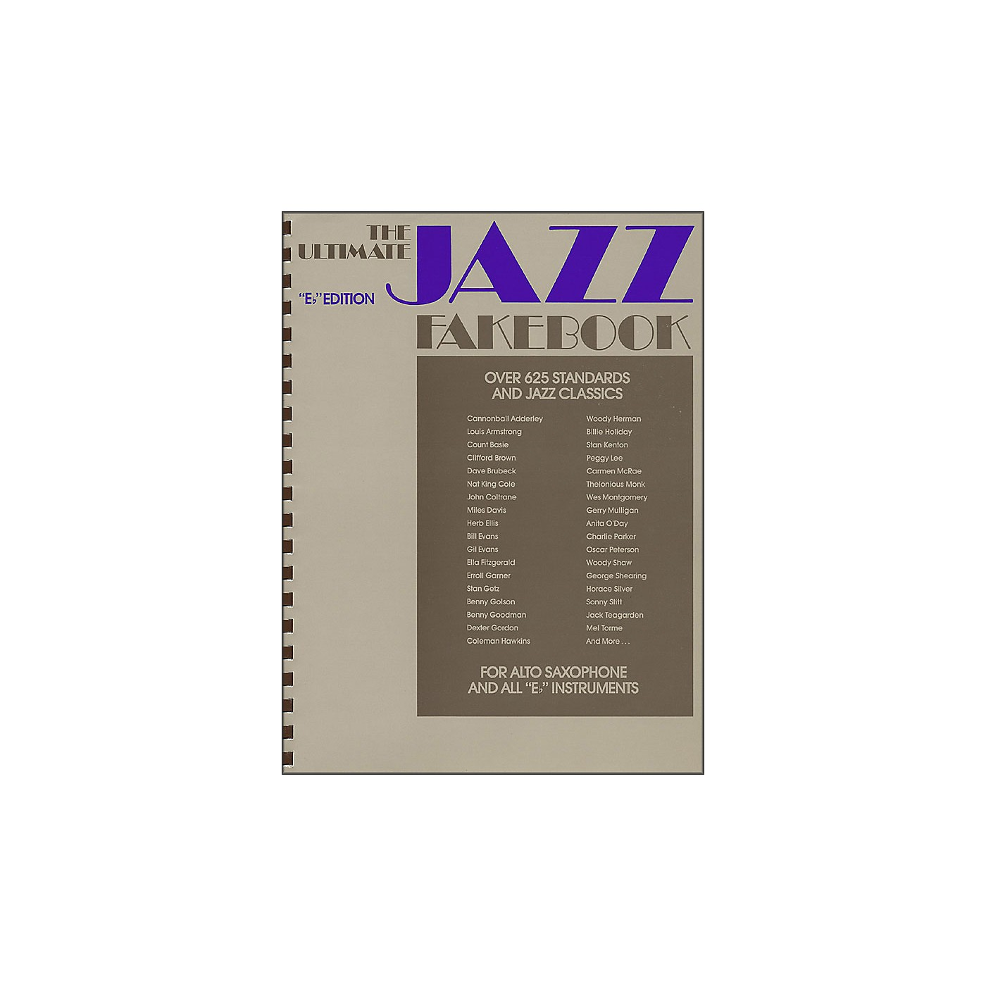 Hal Leonard The Ultimate Jazz Fake Book, The E Flat Edition thumbnail