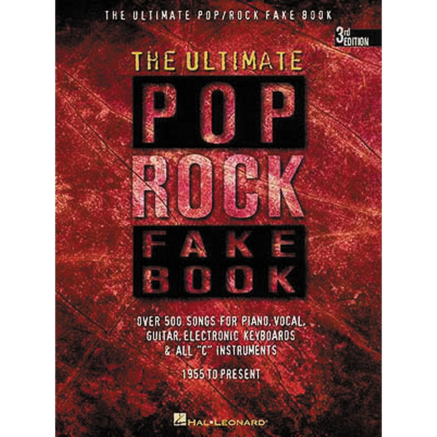 Hal Leonard The Ultimate Pop Rock Fake Book thumbnail