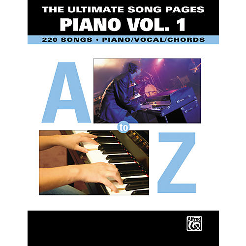 Hal Leonard The Ultimate Song Pages Piano Volume 1-thumbnail