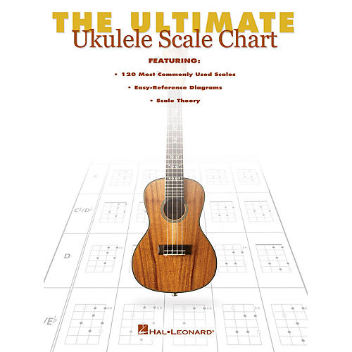 Hal Leonard The Ultimate Ukulele Scale Chart Ukulele Series Softcover Written by Various thumbnail