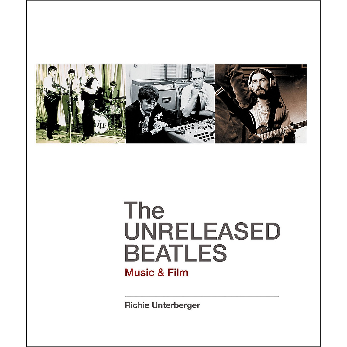 Backbeat Books The Unreleased Beatles Book thumbnail