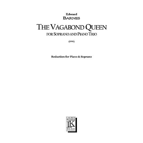 Lauren Keiser Music Publishing The Vagabond Queen (Chamber Opera Vocal Score) LKM Music Series  by Edward Barnes thumbnail