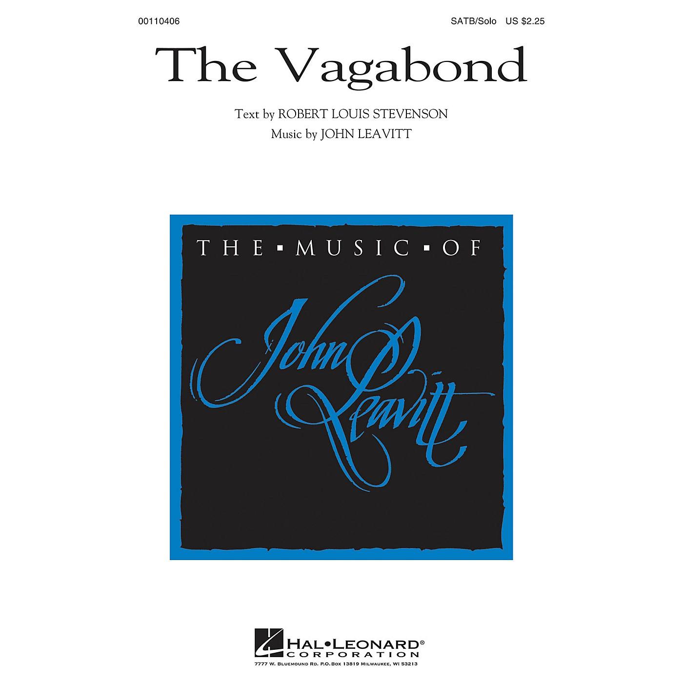 Hal Leonard The Vagabond SATB Chorus and Solo composed by John Leavitt thumbnail