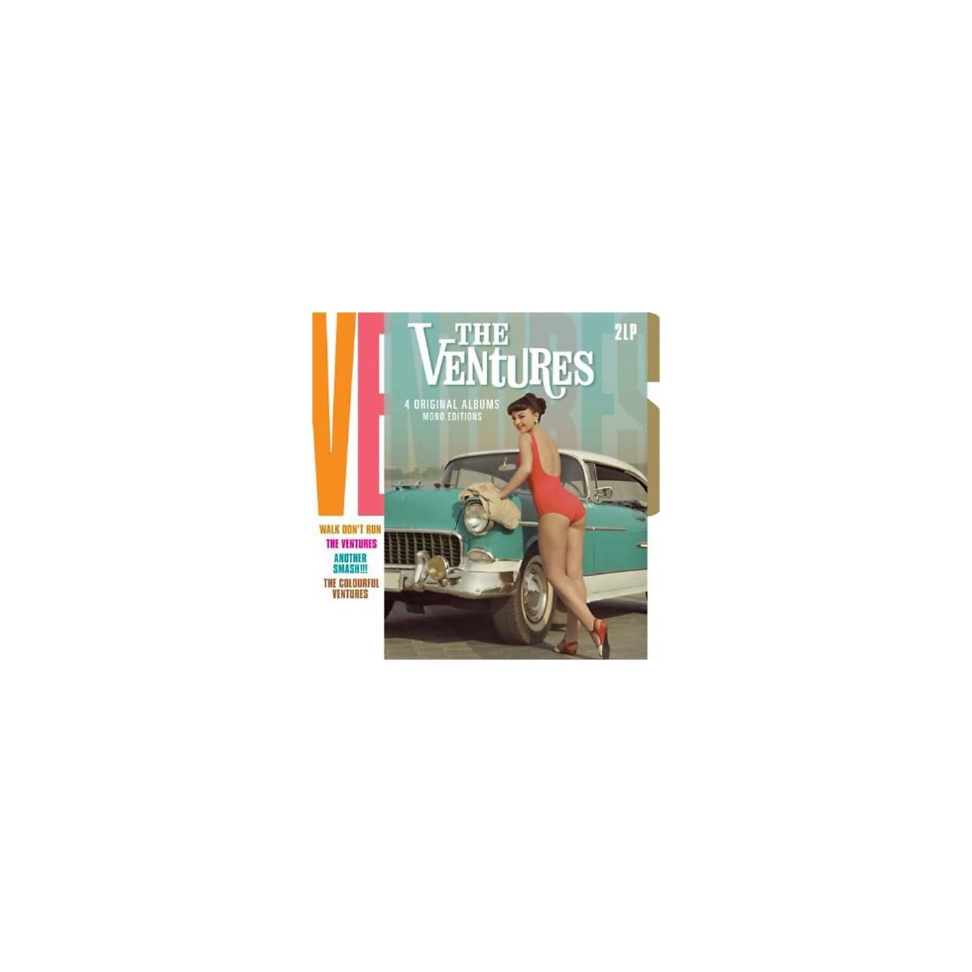 Alliance The Ventures - 4 Original Albums-Mono Editions thumbnail