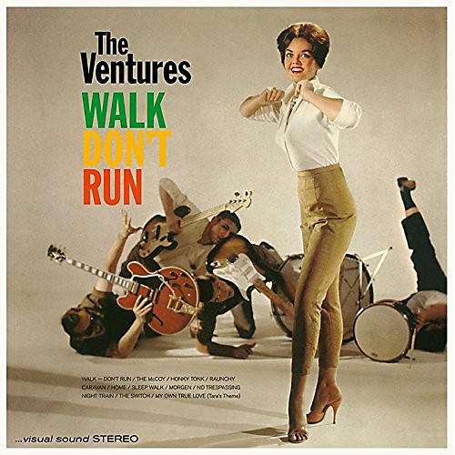 Alliance The Ventures - Walk Don't Run + 4 Bonus Tracks thumbnail