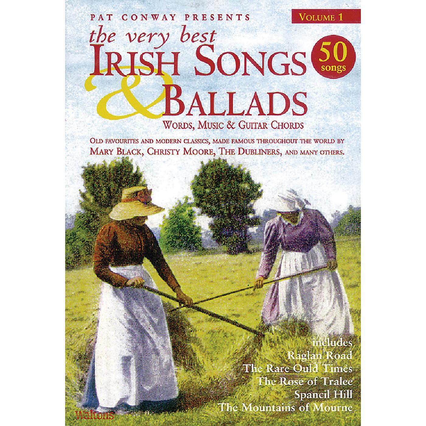 Waltons The Very Best Irish Songs & Ballads - Volume 1 Waltons Irish Music Books Series Softcover thumbnail