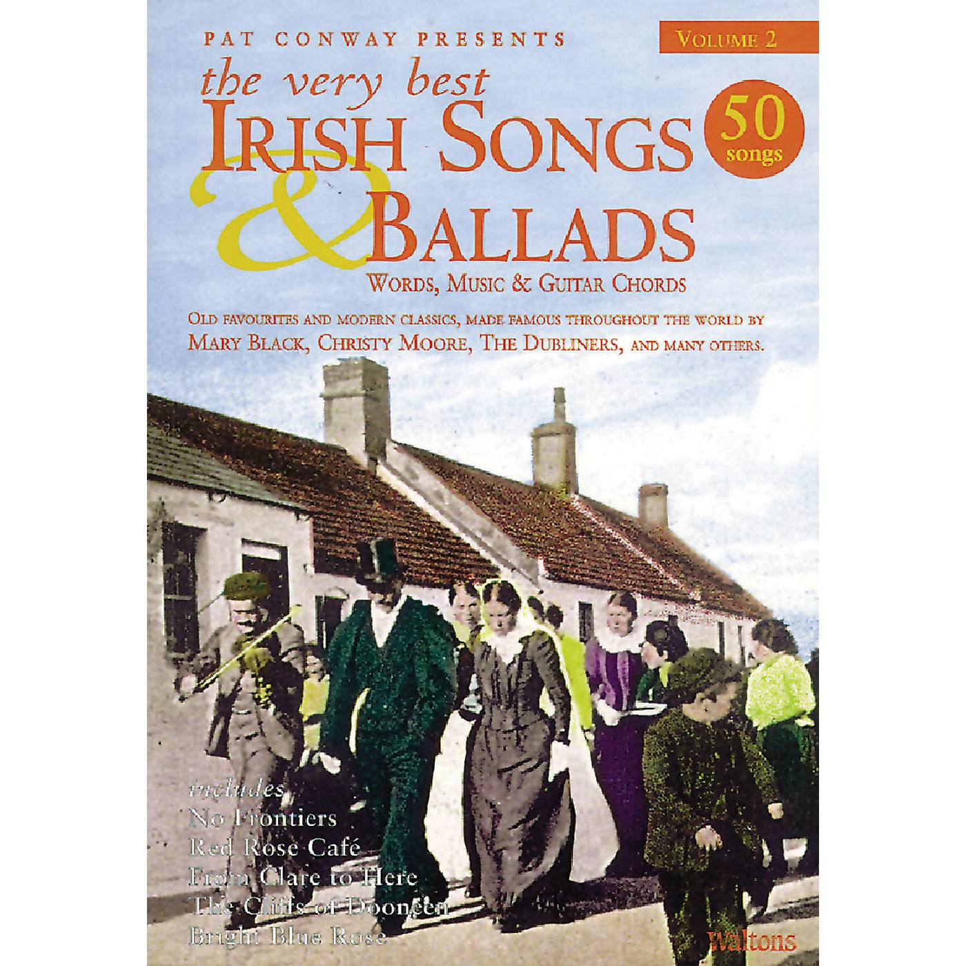 Waltons The Very Best Irish Songs & Ballads - Volume 2 Waltons Irish Music Books Series Softcover thumbnail