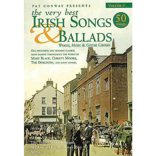 Waltons The Very Best Irish Songs & Ballads - Volume 3 Waltons Irish Music Books Series Softcover thumbnail