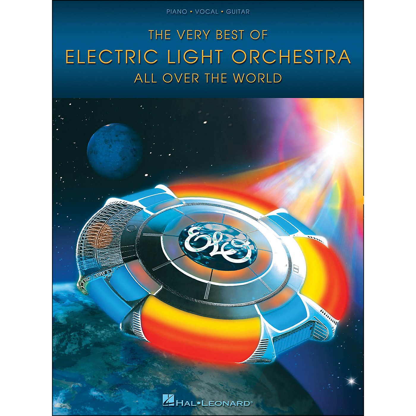Hal Leonard The Very Best Of Electric Light Orchestra All Over The World arranged for piano, vocal, and guitar (P/V/G) thumbnail