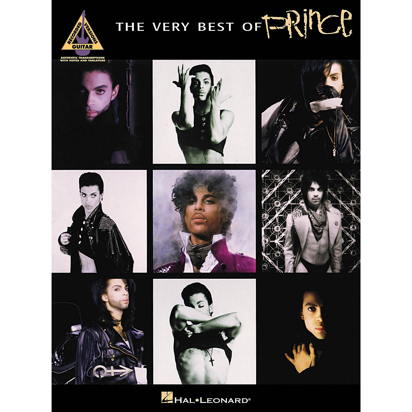 Hal Leonard The Very Best Of Prince Guitar Recorded Version Songbook thumbnail