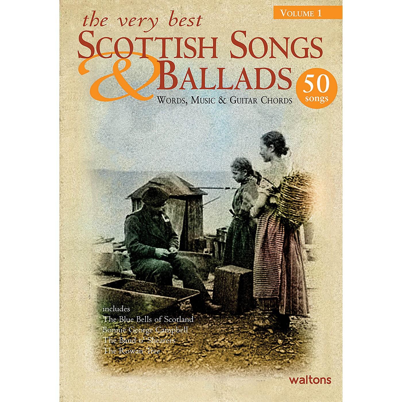 Waltons The Very Best Scottish Songs & Ballads - Volume 1 Waltons Irish Music Books Series thumbnail
