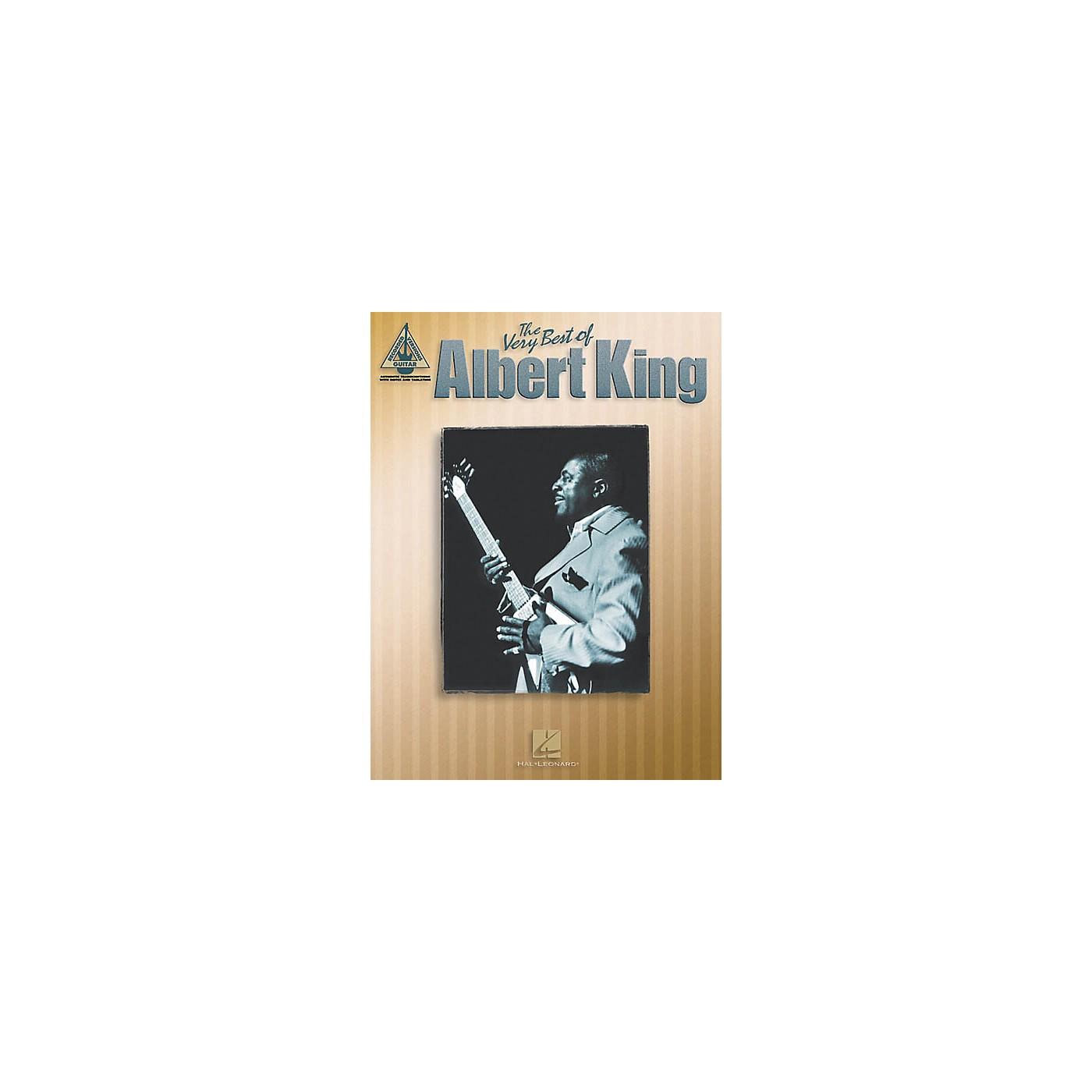 Hal Leonard The Very Best of Albert King Guitar Tab Songbook thumbnail