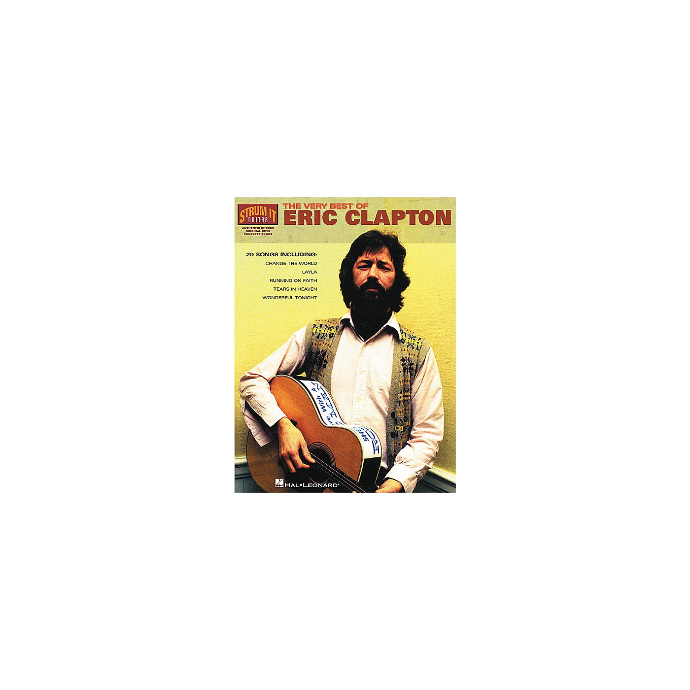 Hal Leonard The Very Best of Eric Clapton Book thumbnail