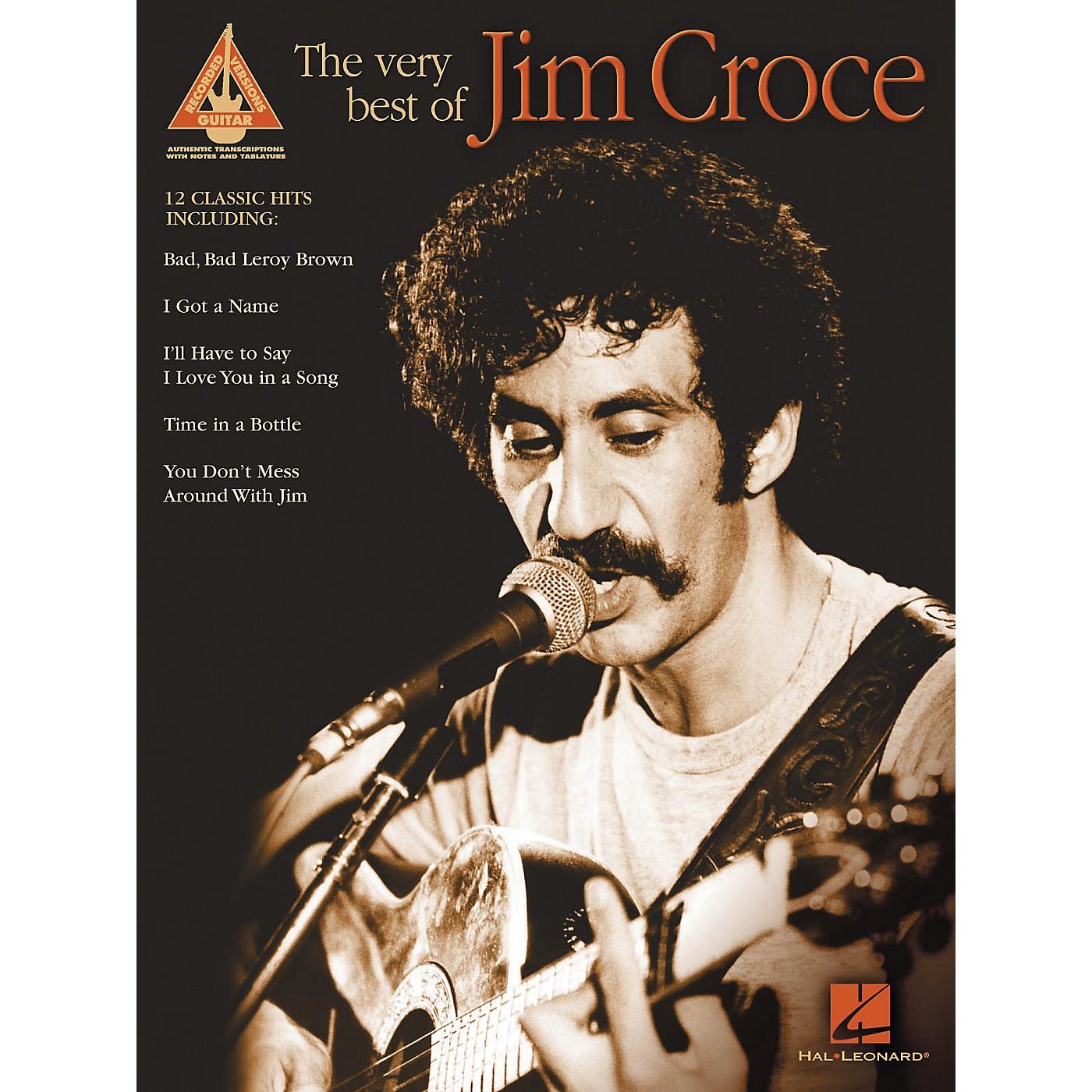 Hal Leonard The Very Best of Jim Croce thumbnail
