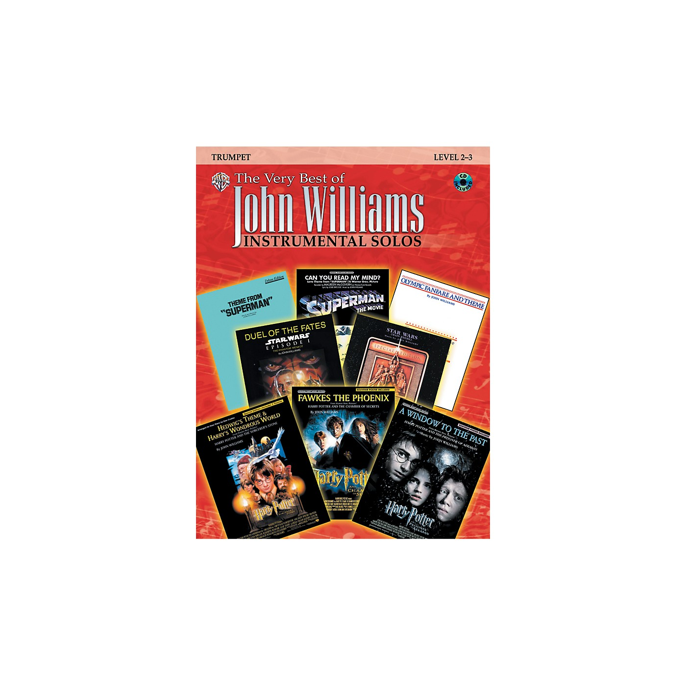 Alfred The Very Best of John Williams trumpet Book & CD thumbnail