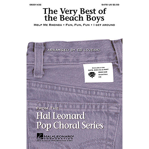Hal Leonard The Very Best of the Beach Boys (Medley) Combo Parts by The Beach Boys Arranged by Ed Lojeski thumbnail