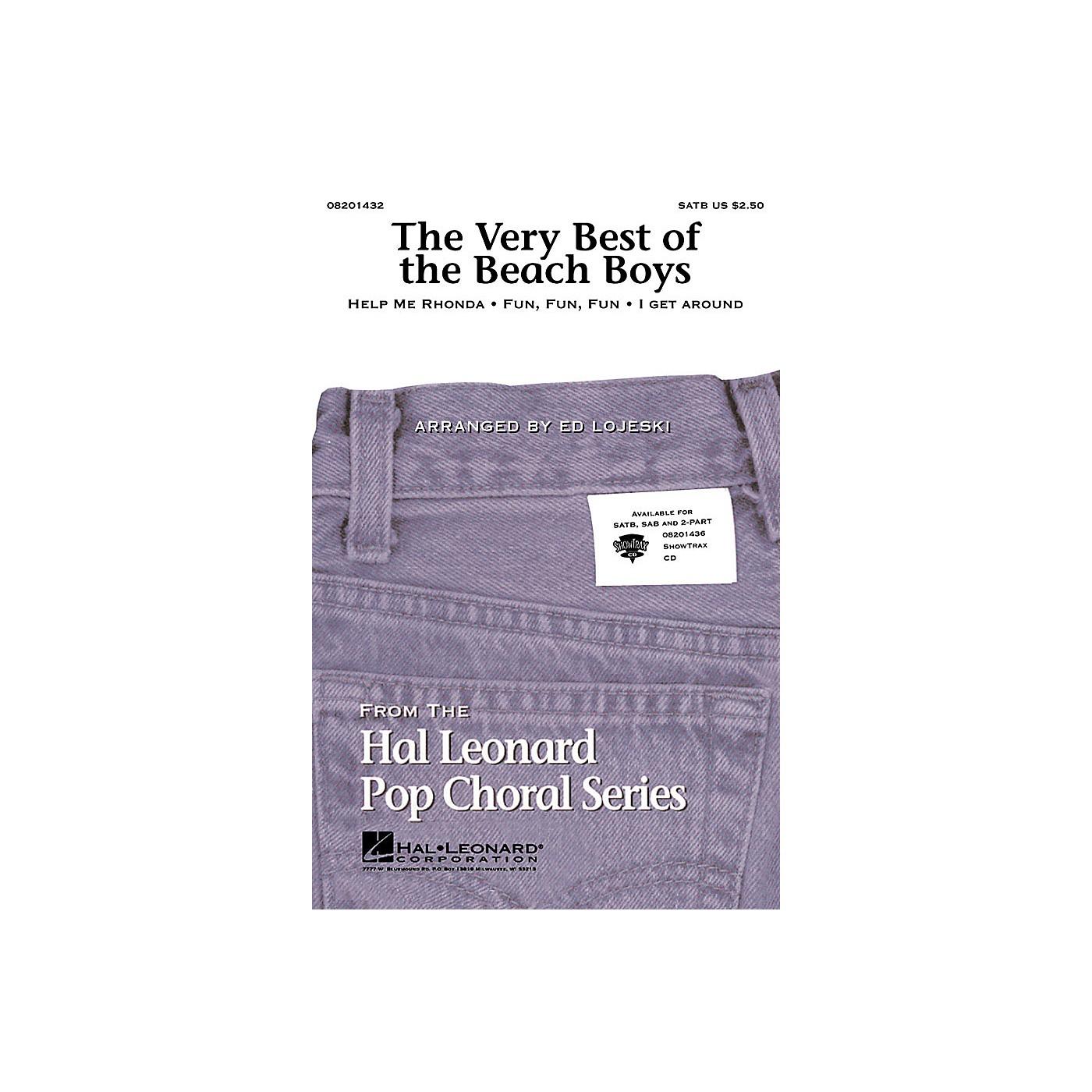 Hal Leonard The Very Best of the Beach Boys (Medley) SATB by The Beach Boys arranged by Ed Lojeski thumbnail