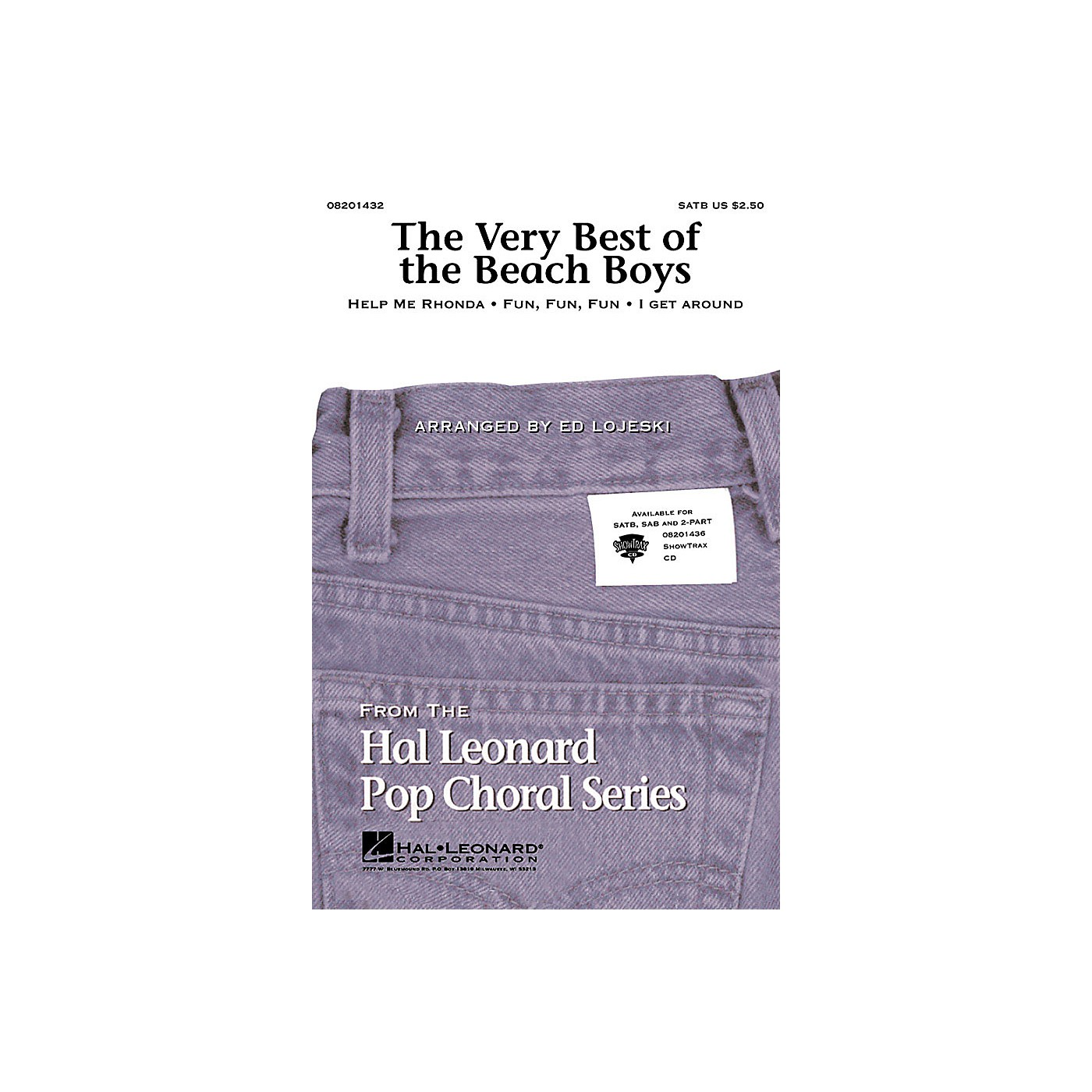 Hal Leonard The Very Best of the Beach Boys (Medley) ShowTrax CD by The Beach Boys Arranged by Ed Lojeski thumbnail