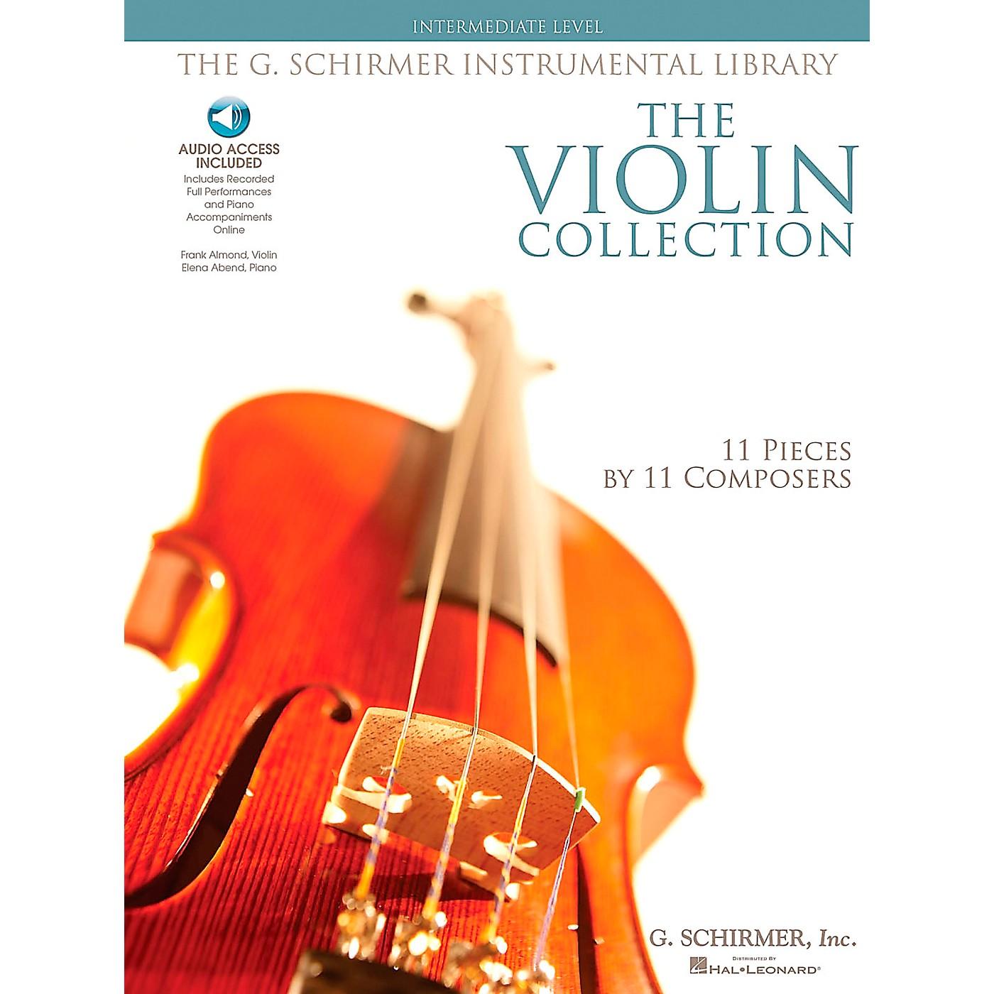 G. Schirmer The Violin Collection - Intermediate Violin / Piano G. Schirmer Instrumental Library thumbnail