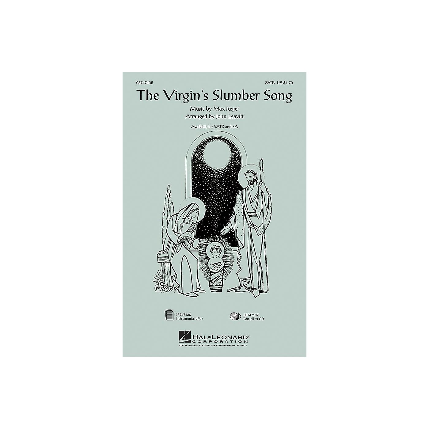 Hal Leonard The Virgin's Slumber Song IPAKCO Arranged by John Leavitt thumbnail