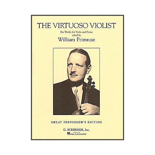 G. Schirmer The Virtuoso Violist for Viola And Piano thumbnail