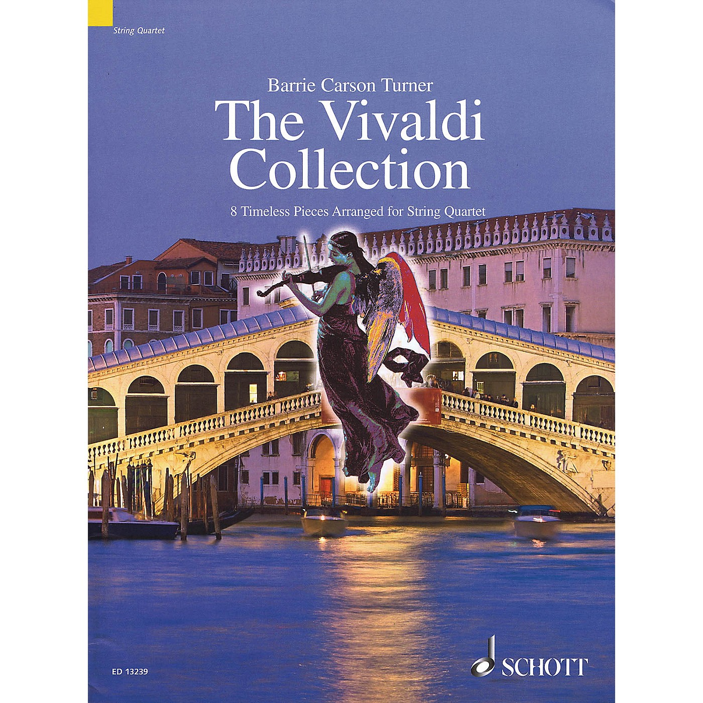 Schott The Vivaldi Collection String Series Softcover Composed by Antonio Vivaldi thumbnail