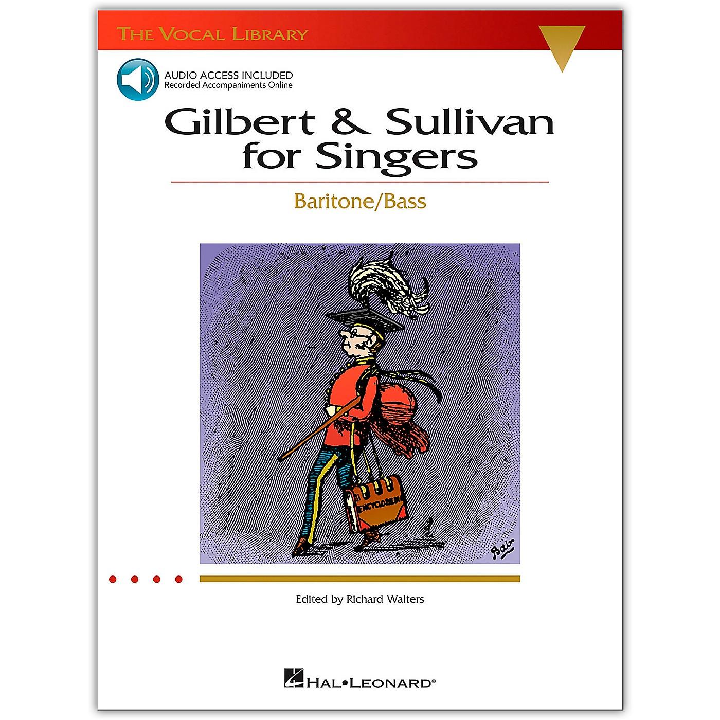 Hal Leonard The Vocal Library Series: Gilbert & Sullivan for Singers - Baritone/Bass (Book/Online Audio) thumbnail