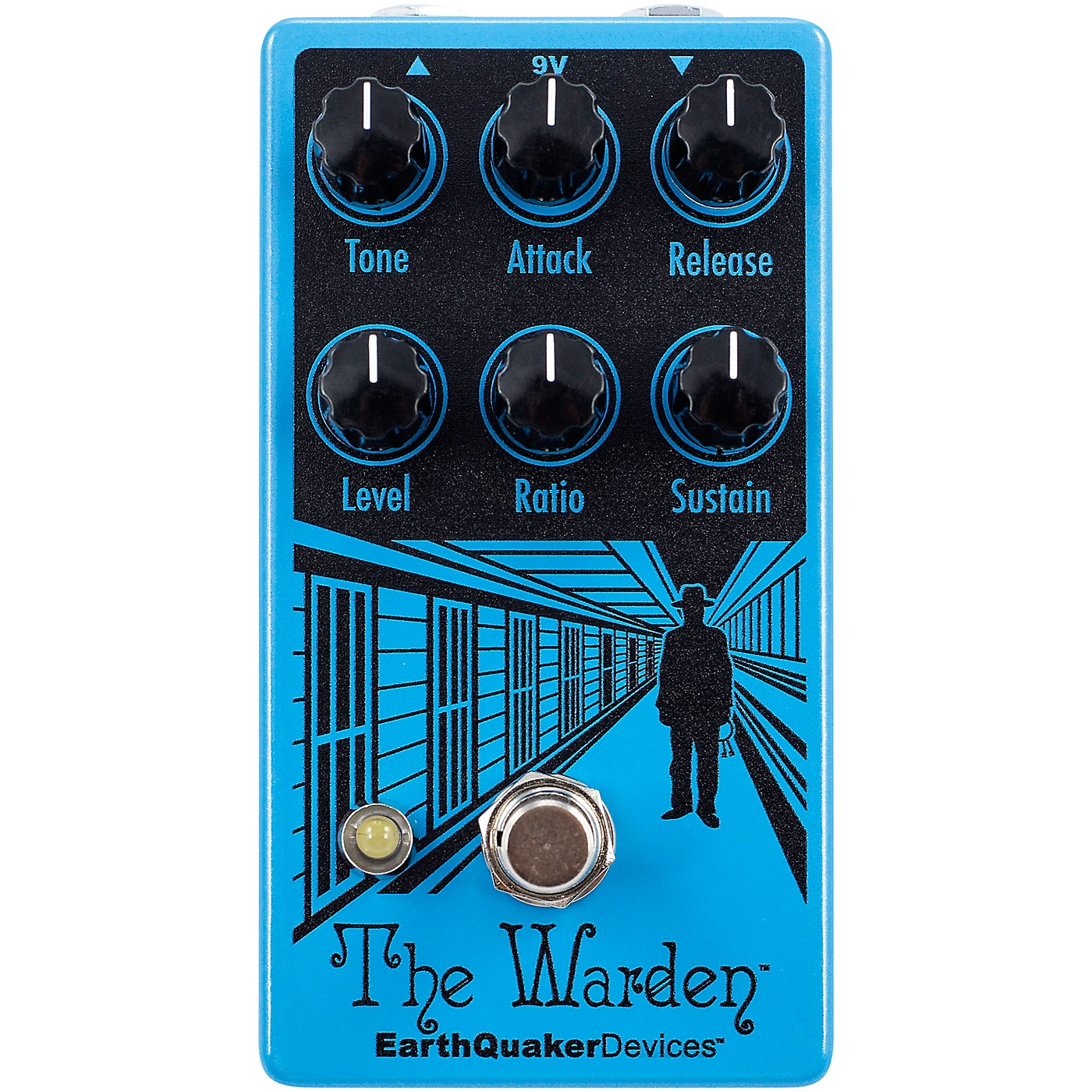 Earthquaker Devices The Warden V2 Optical Compressor Effects Pedal thumbnail