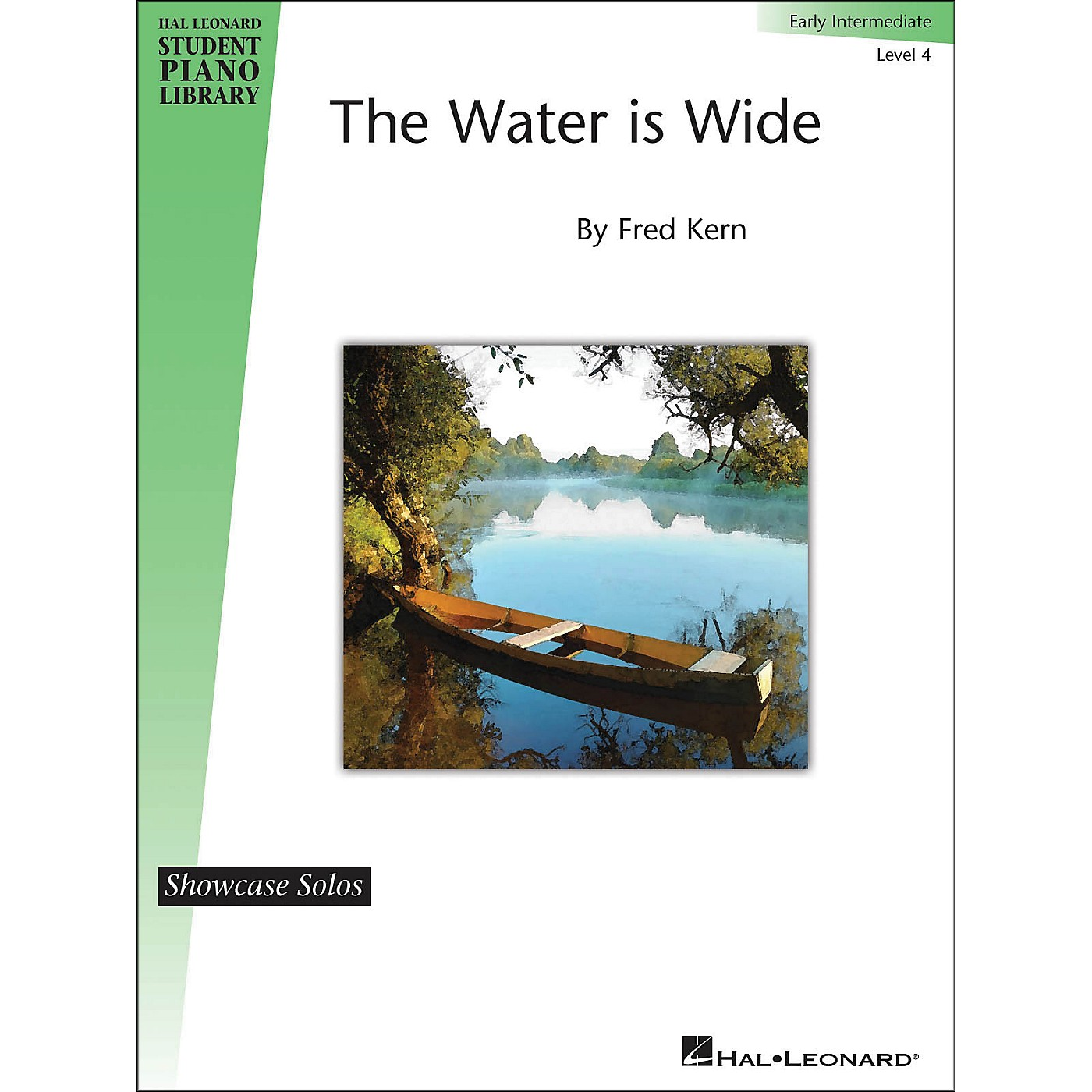 Hal Leonard The Water Is Wide - HLSPL Showcase Solo Level 4 Early Intermediate thumbnail