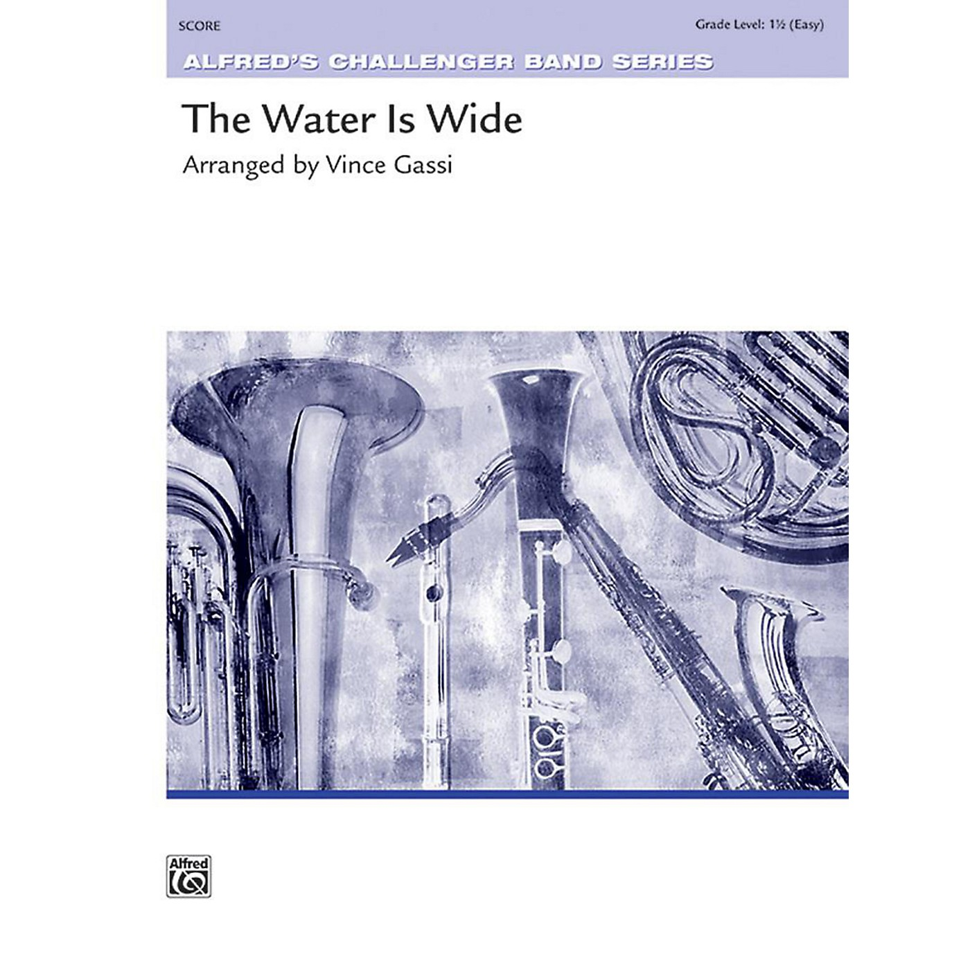 Alfred The Water Is Wide Concert Band Grade 1.5 Set thumbnail
