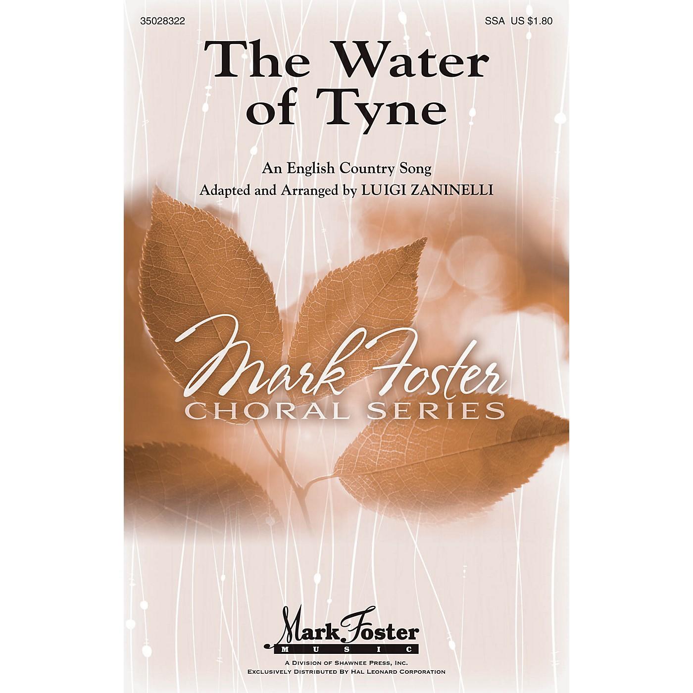 Shawnee Press The Water of Tyne SSA arranged by Luigi Zaninelli thumbnail