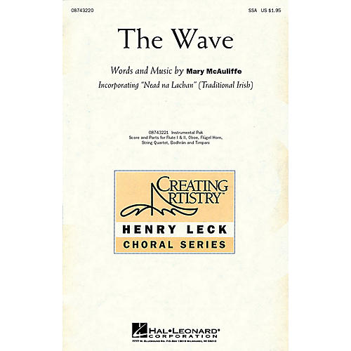 Hal Leonard The Wave IPAKS Composed by Mary McAuliffe thumbnail