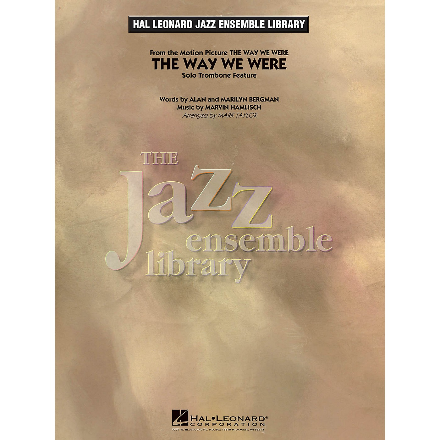 Hal Leonard The Way We Were (Solo Trombone Feature) Jazz Band Level 4 Arranged by Mark Taylor thumbnail