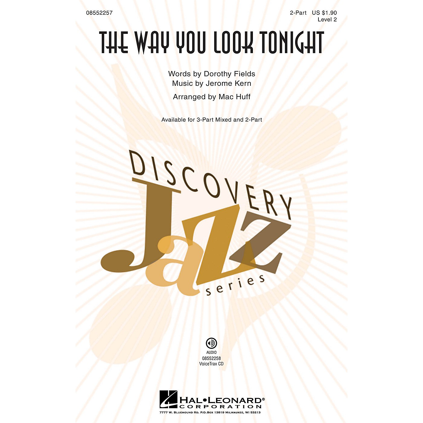 Hal Leonard The Way You Look Tonight (Discovery Level 2) 2-Part arranged by Mac Huff thumbnail