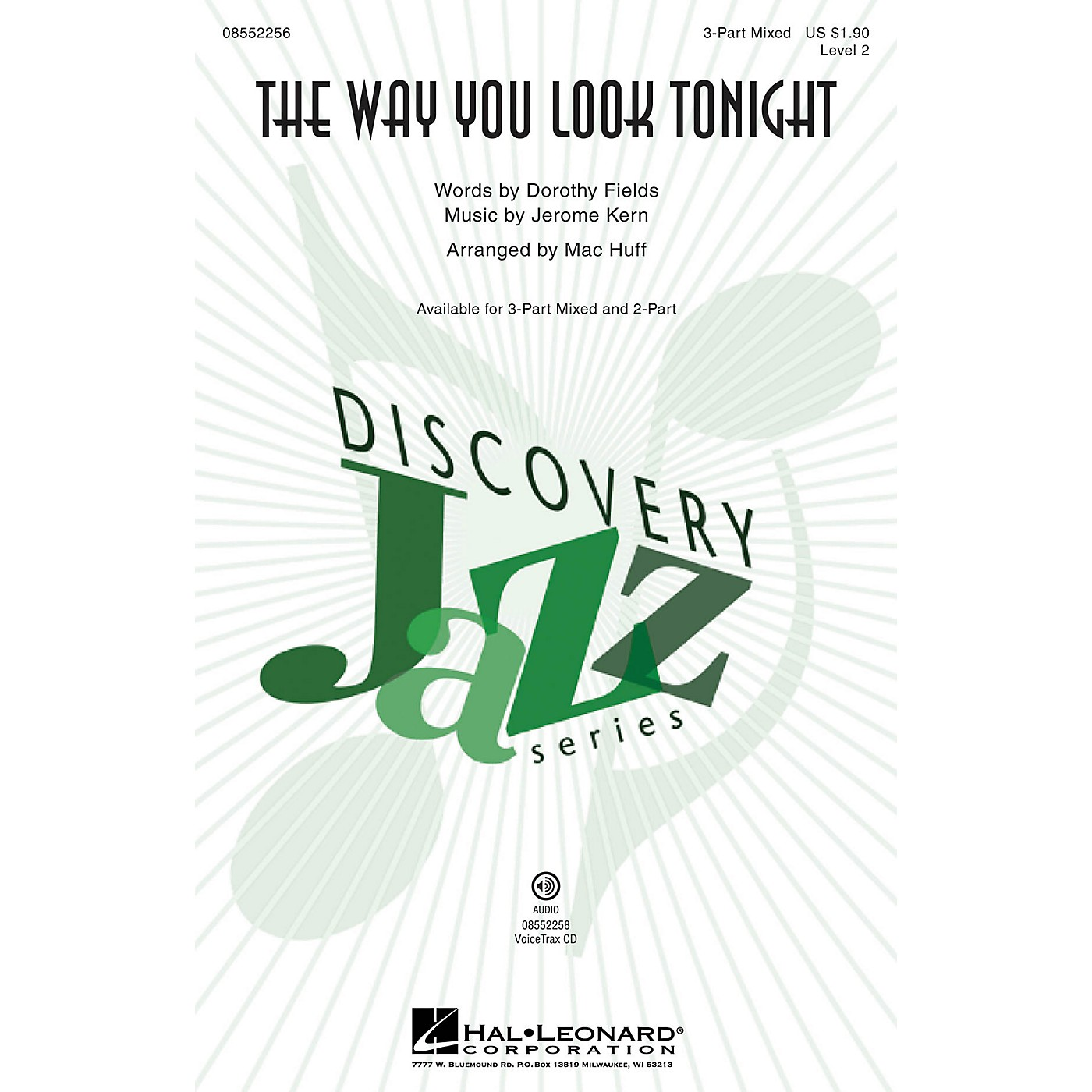 Hal Leonard The Way You Look Tonight (Discovery Level 2) 3-Part Mixed arranged by Mac Huff thumbnail