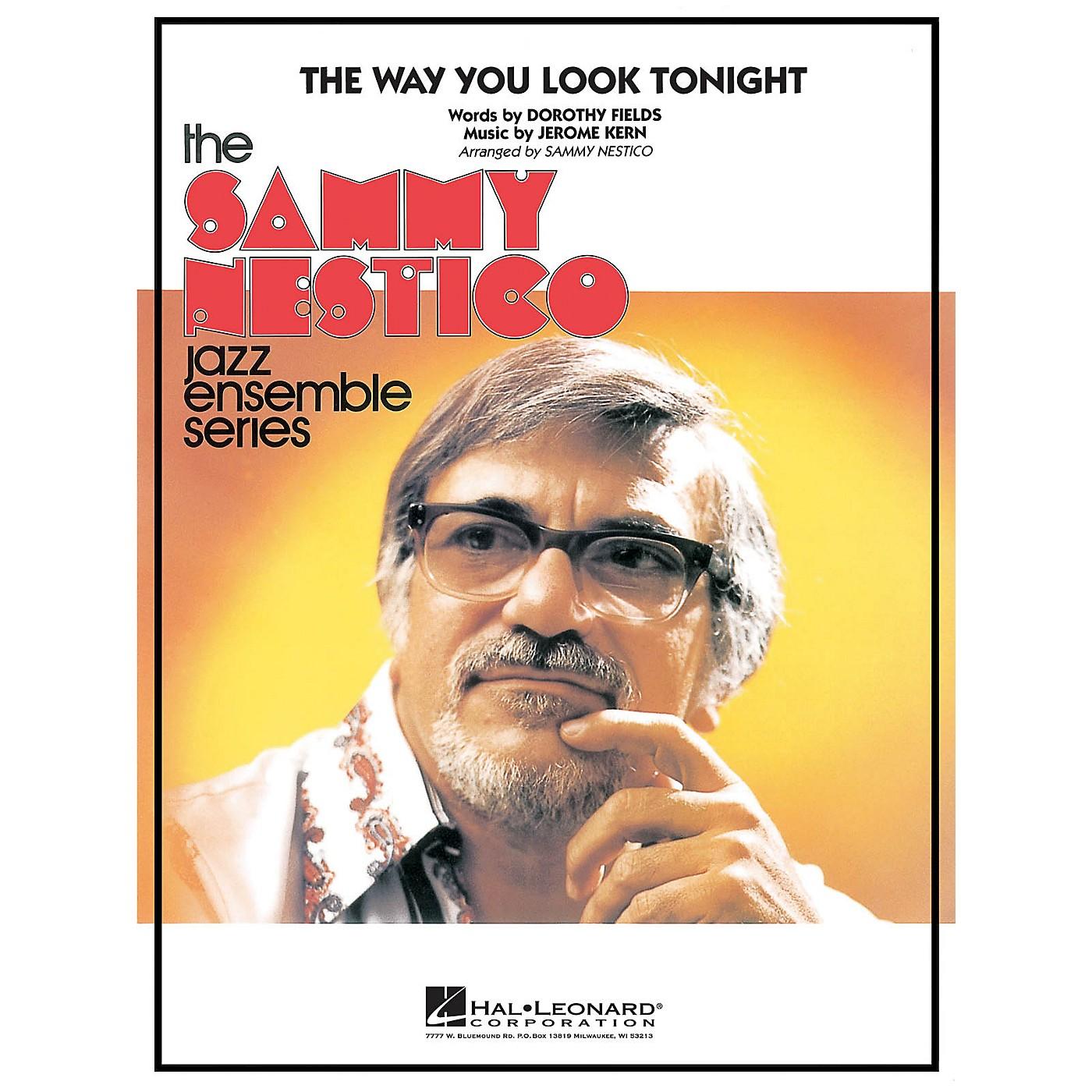 Hal Leonard The Way You Look Tonight Jazz Band Level 4 Arranged by Sammy Nestico thumbnail