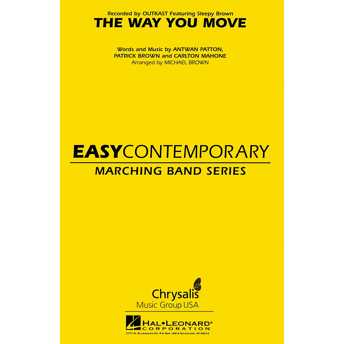 Hal Leonard The Way You Move Marching Band Level 2 Arranged by Michael Brown thumbnail