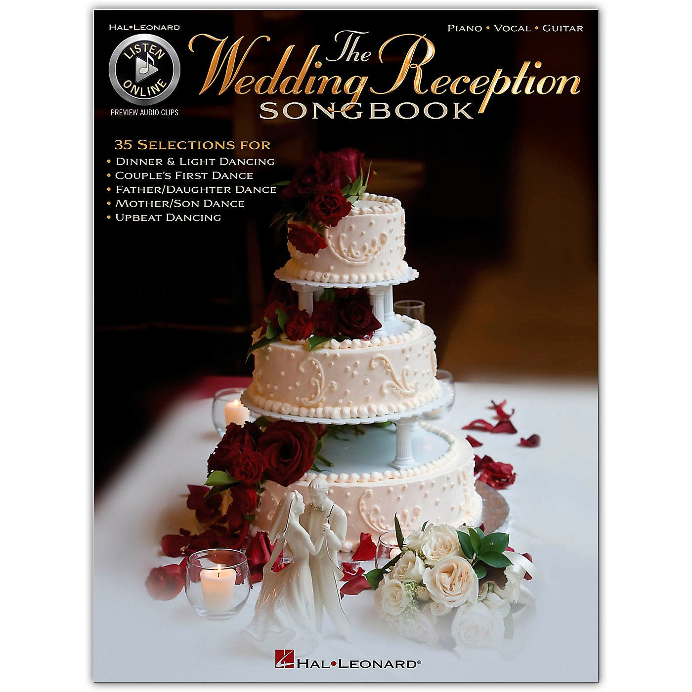 Hal Leonard The Wedding Reception Songbook for Piano/Vocal/Guitar (Book/Online Audio) thumbnail