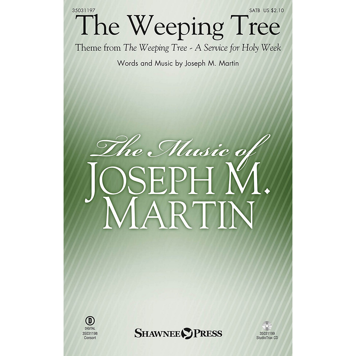 Shawnee Press The Weeping Tree (Theme from The Weeping Tree) Studiotrax CD Composed by Joseph M. Martin thumbnail