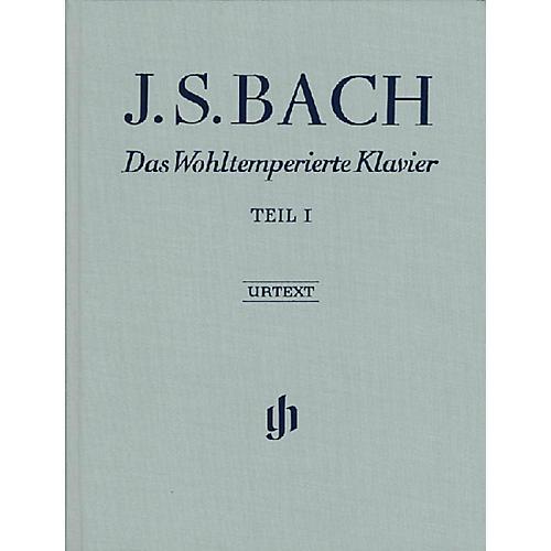 G. Henle Verlag The Well-Tempered Clavier - Revised Edition (Part I, BWV 846-869) Henle Music Folios Series Hardcover thumbnail