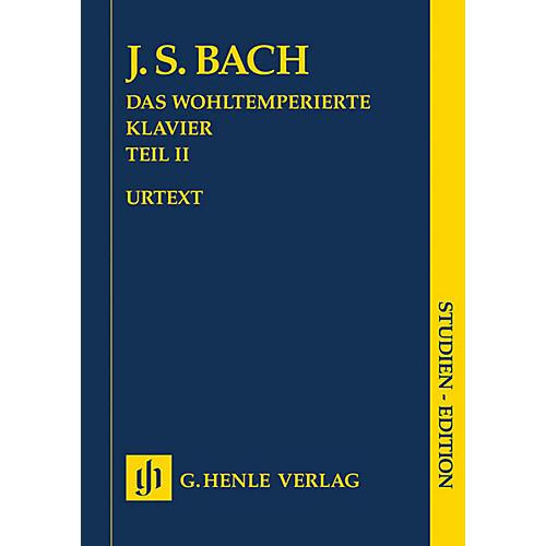 G. Henle Verlag The Well-Tempered Clavier, Part II BWV 870-893 Henle Study Score by Bach Edited by Ernst-Gunter Heinemann thumbnail