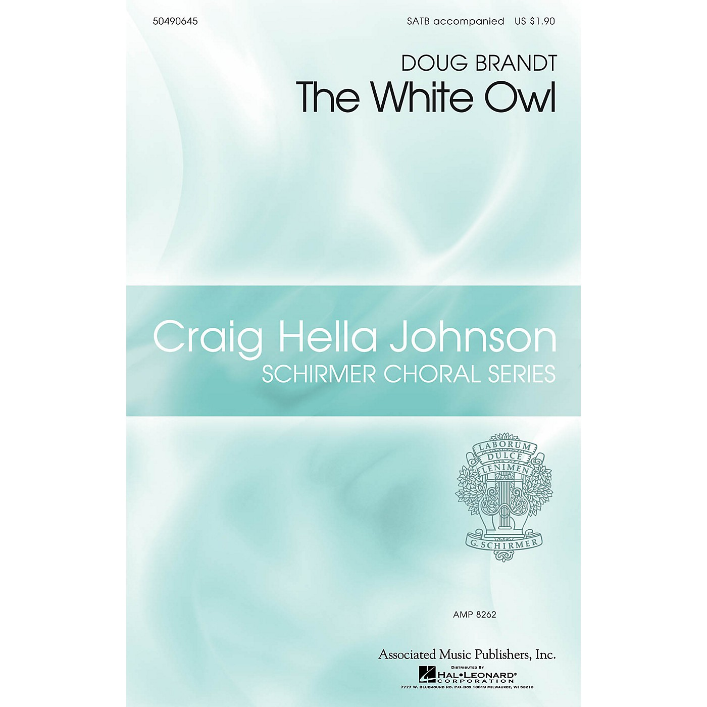 G. Schirmer The White Owl (Craig Hella Johnson Choral Series) SATB composed by Doug Brandt thumbnail