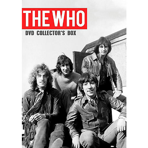 Hal Leonard The Who - Collector's Box 2 DVD Set thumbnail