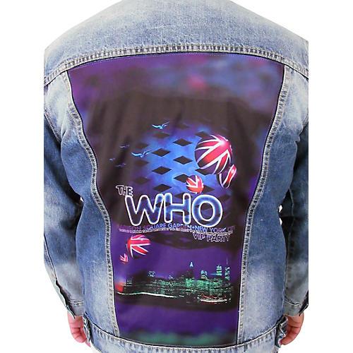 Dragonfly Clothing The Who - Madison Square Garden - Womens Denim Jacket thumbnail