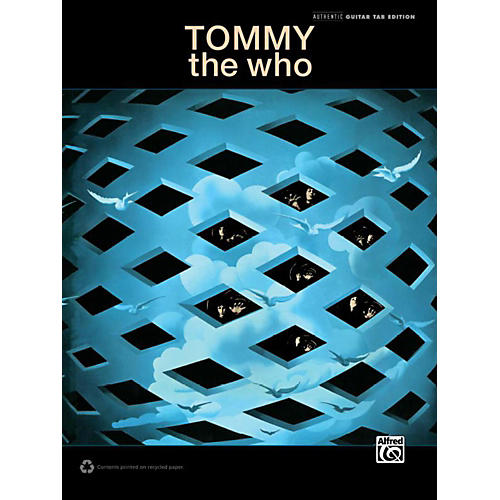 Alfred The Who - Tommy Guitar TAB Book thumbnail