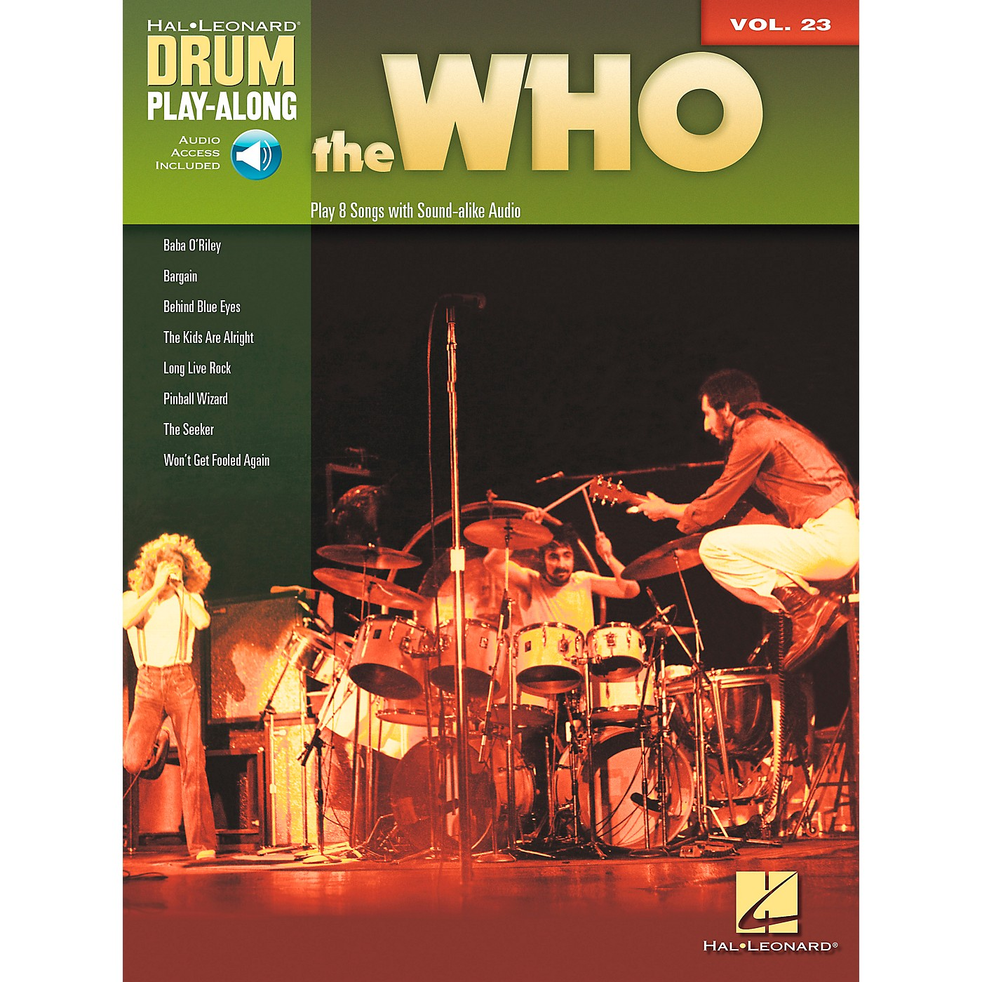 Hal Leonard The Who Drum Play-Along Volume 23 Book/CD thumbnail