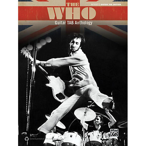 Alfred The Who Guitar TAB Anthology Book thumbnail