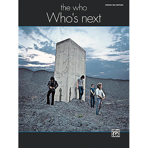 Alfred The Who: Who's Next Guitar TAB Edition Songbook thumbnail