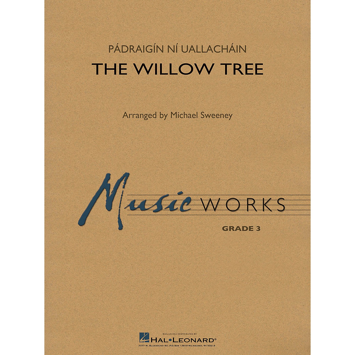 Hal Leonard The Willow Tree Concert Band Level 3 Arranged by Michael Sweeney thumbnail