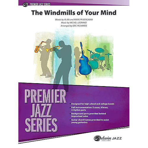 BELWIN The Windmills of Your Mind Jazz Ensemble Grade 5 (Advanced / Difficult) thumbnail